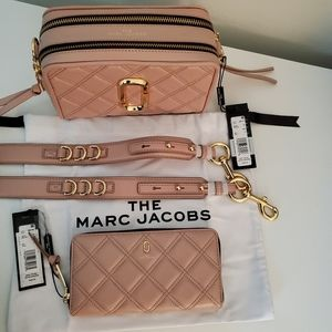 🔥Marc Jacobs Bundle of Nude Bag and Wallet
